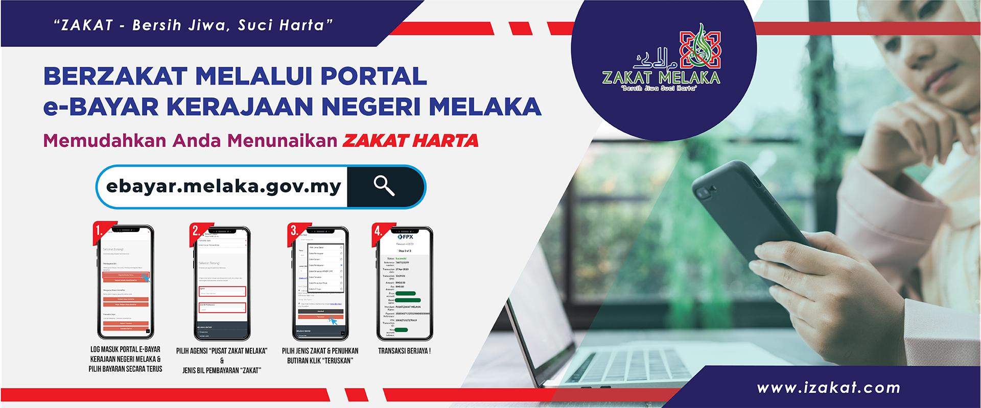 bayar zakat Negeri Melaka